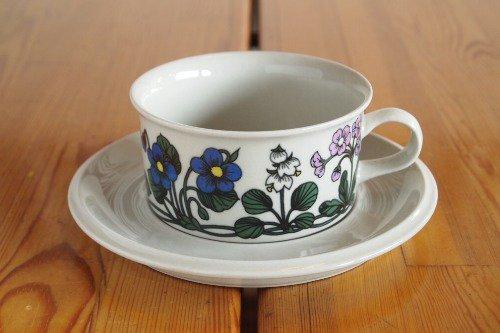Arabia Flora Tea C&S/Esteri Tomula/アラビア フローラ ティーカップ&ソーサー