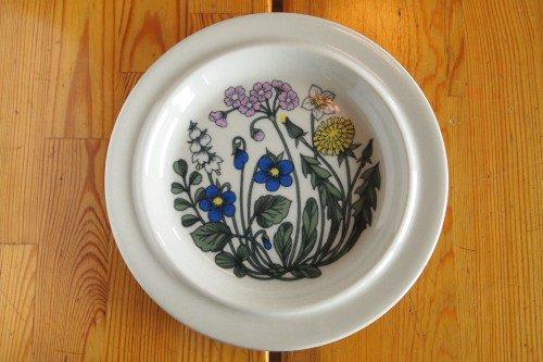 Arabia Flora 20cm plate/Esteri Tomula/アラビア フローラ プレート
