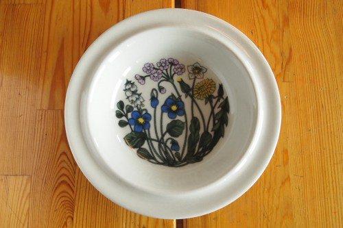 Arabia Flora 20cm Soup plate/Esteri Tomula/アラビア フローラ スーププレート