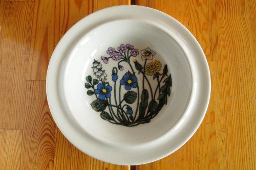 Arabia Flora 20cm Soup plate/Esteri Tomula/アラビア フローラ スープボウル
