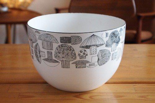 FINEL Tatti Enamel Bowl L/Esteri Tomula/フィネル キノコ 琺瑯 エナメル ボウル