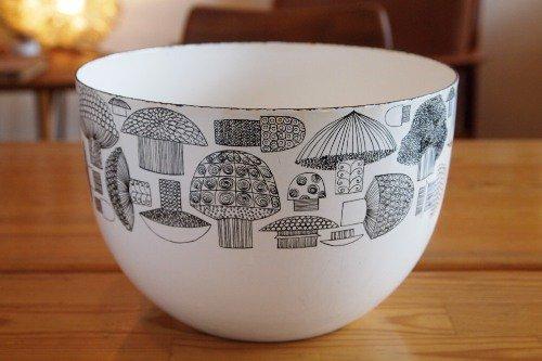 FINEL Tatti Bowl L/Esteri Tomula/フィネル キノコ ホウロウ エナメル ボウル