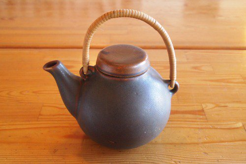 ARABIA GA1 Brown Tea Pot/Ulla Procope/アラビア ウラ・プロコペ