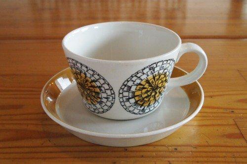 ARABIA KEHAKUKKA Coffee C&S/Esteri Tomula/アラビア ケハクッカ コーヒーカップ&ソーサー