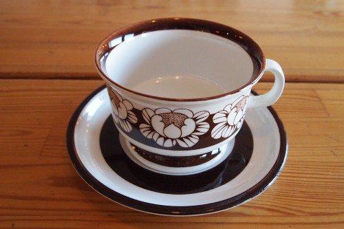 ARABIA KATRILLI Tea C&S/Esteri Tomula/アラビア カトリ—リ ティーカップ&ソーサー