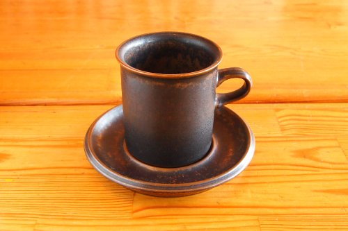 *ARABIA Ruska Coffee C&S/アラビア ルスカ コーヒーカップ&ソーサー