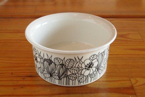 ARABIA KROKUS Sugar Bowl BW/Esteri Tomula/アラビア クロッカス シュガーボウル