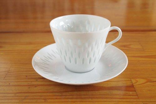 ARABIA Rice Pocelain Coffee C&S/アラビア ライスポーセリン コーヒーカップ&ソーサー