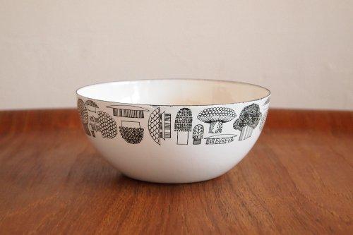 FINEL Tatti Bowl S/Esteri Tomula/フィネル 琺瑯製ボウル きのこ柄 エステ・リトムラ