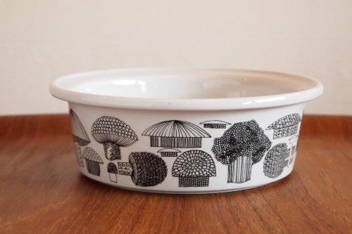 ARABIA Tatti Ceramic Bowl/Esteri Tomula/アラビア キノコ柄 セラミックボウル