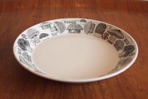 ARABIA Tatti 19cm Ceramic Plate/Esteri Tomula/アラビア キノコ柄 セラミックプレート