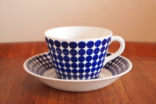 Gustavsberg ADAM Coffee C&S/stig lindberg スティグ・リンドベリ/アダム コーヒーカップ&ソーサー