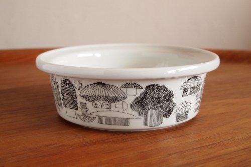 ARABIA Tatti Ceramic Bowl S Φ15cm/Esteri Tomula/アラビア キノコ柄 ボウル