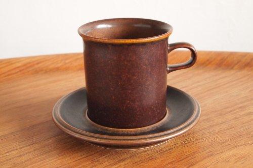 ARABIA アラビア Ruska ルスカ Lage Coffee C&S 0.3L コーヒーカップ&ソーサー ラージサイズ 0.3L