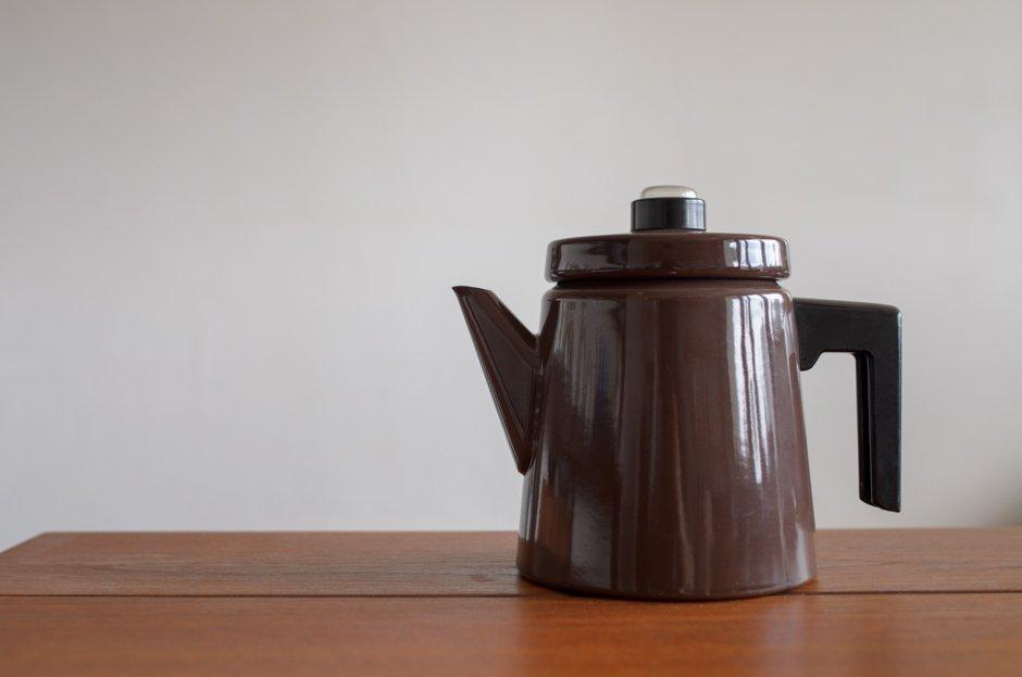 FINEL フィネル Antti Nurmesniemiアンティ・ヌルメスニエミ Coffee Pot コーヒーポット BROWN L 1.5L