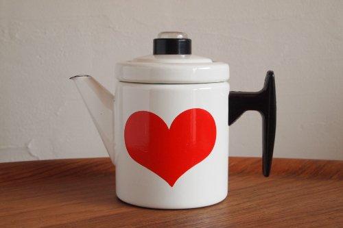 FINEL フィネル Antti Nurmeshiemi アンティ・ヌルメスニエミ Heart Coffee Pot コーヒーポット S 0.7L
