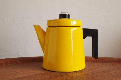 FINEL フィネル Antti Nurmesniemi アンティ・ヌルメスニエミ Coffee Pot コーヒーポット L 1.5L Yellow