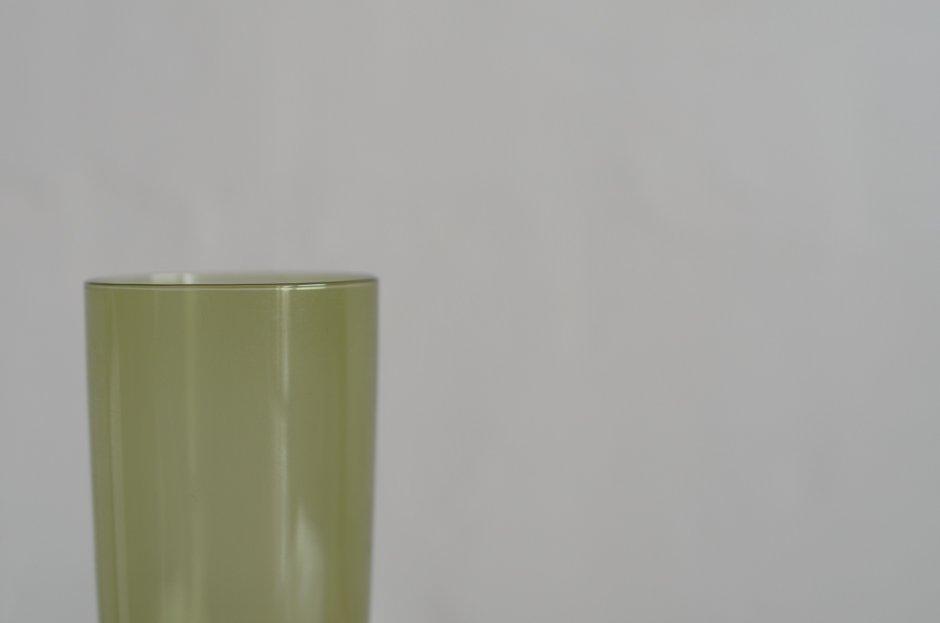 iittala Tapio Wirkkala Glass #2204 Green/イッタラ タピオ・ウィルカラ ジュースグラス