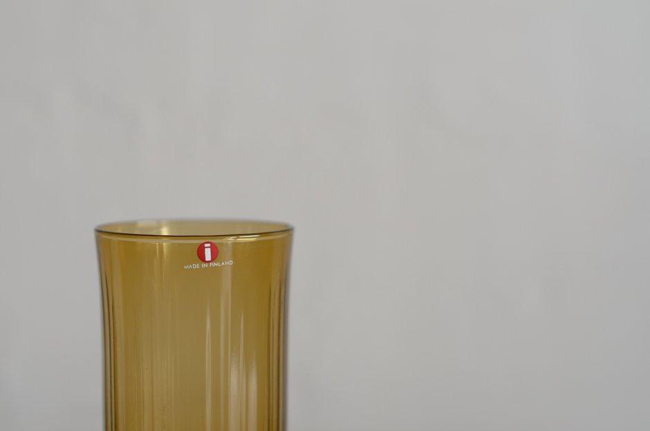 iittala Tapio Wirkkala Glass #2065 Umber/イッタラ タピオ・ウィルカラ グラス