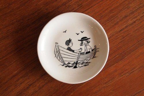 ARABIA アラビア Emilia エミリア Wall min Plate Boat ミニプレート