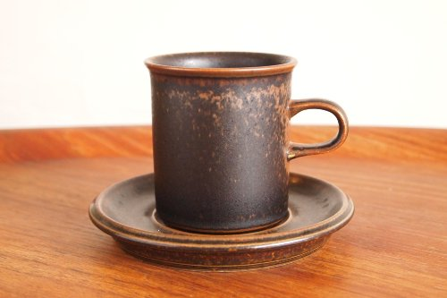 ARABIA アラビア RUSKA ルスカ Coffee C&S 0.16L コーヒーカップ&ソーサー/Ulla Procope ウラ・プロコペ