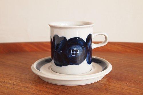 ARABIA アラビア Anemone アネモネ Coffee C&S 0.16L コーヒーカップ&ソーサー/Ulla Procope