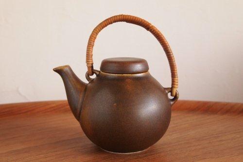 ARABIA アラビア Tea Pot ティーポット GA-1 Brown 茶/Ulla Procope ウラ・プロコペ