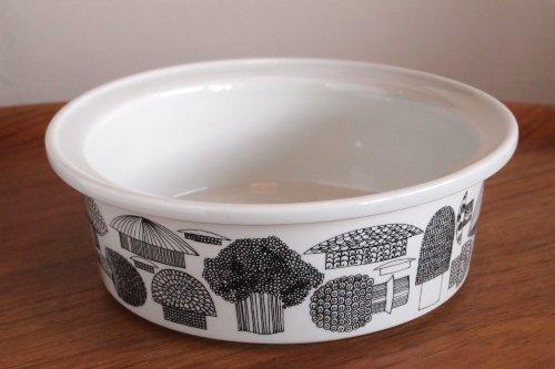 ARABIA アラビア Tatti 20cm Ceramic Bowl M キノコ柄 ボウル/Esteri Tomula エステリ・トムラ