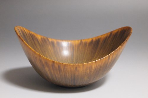Gunnar Nylund グナー・ニールンド Brown ARO Bowl S/Rorstrand