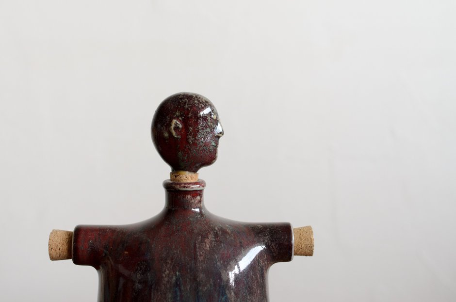 Stig Lindberg スティグ・リンドベリ Human Studio Hand Bottle/Gustavsberg