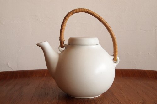 ARABIA アラビア GA-1 Tea Pot ティーポット White 白/Ulla Procope ウラ・プロコペ