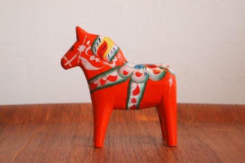 DALA HORSES ダーラナホース ダーラヘスト M RED 赤