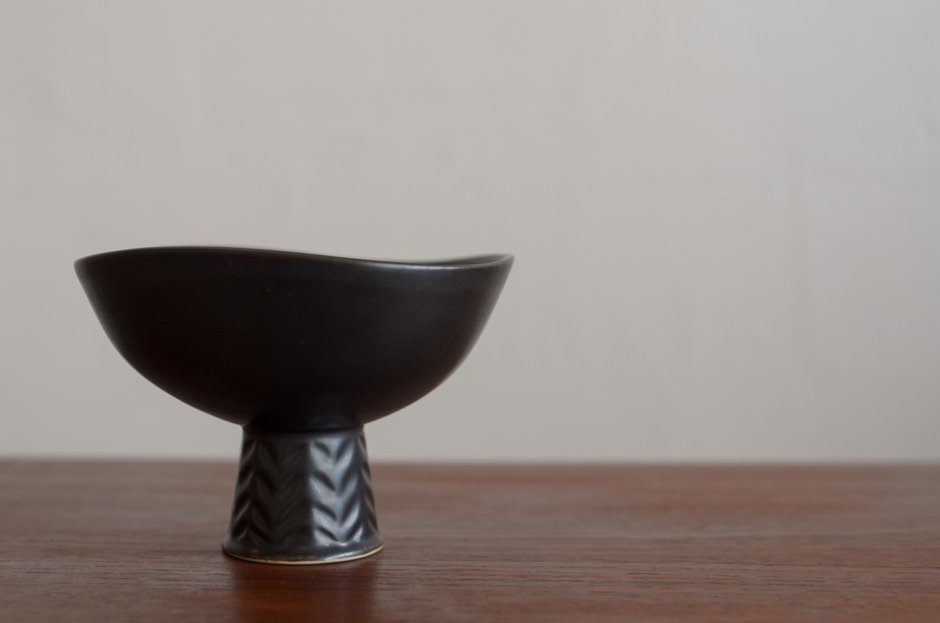 Carl Harry Stalhane カールハリー・スタルハネ SHI Black Bowl/Rorstrand