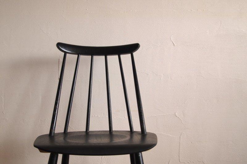 Ilmari Tapiovaara イルマリ・タピオヴァラ Fanett chair ファネットチェア ブラック×ブラック