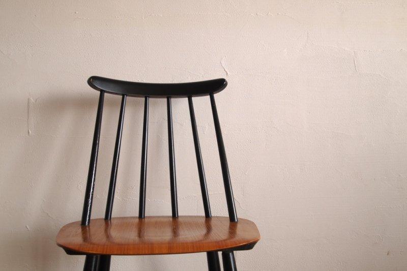 Ilmari Tapiovaara イルマリ・タピオヴァラ Fanett chair ファネットチェア ブラック×ナチュラル1