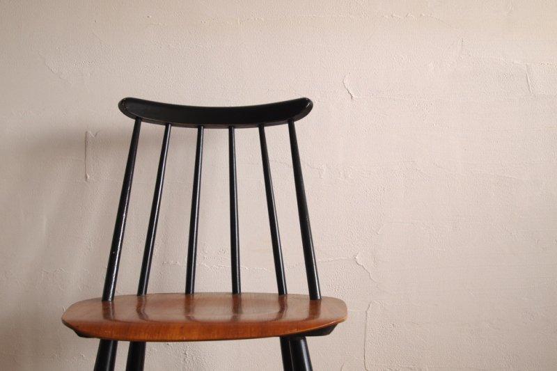 Ilmari Tapiovaara イルマリ・タピオヴァラ Fanett chair ファネットチェア ブラック×ナチュラル2