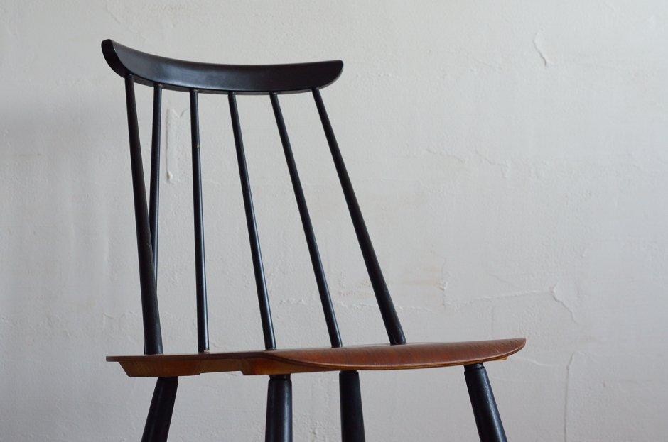 Ilmari Tapiovaara イルマリ・タピオヴァラ Fanett chair ファネットチェア Black × Brown 1