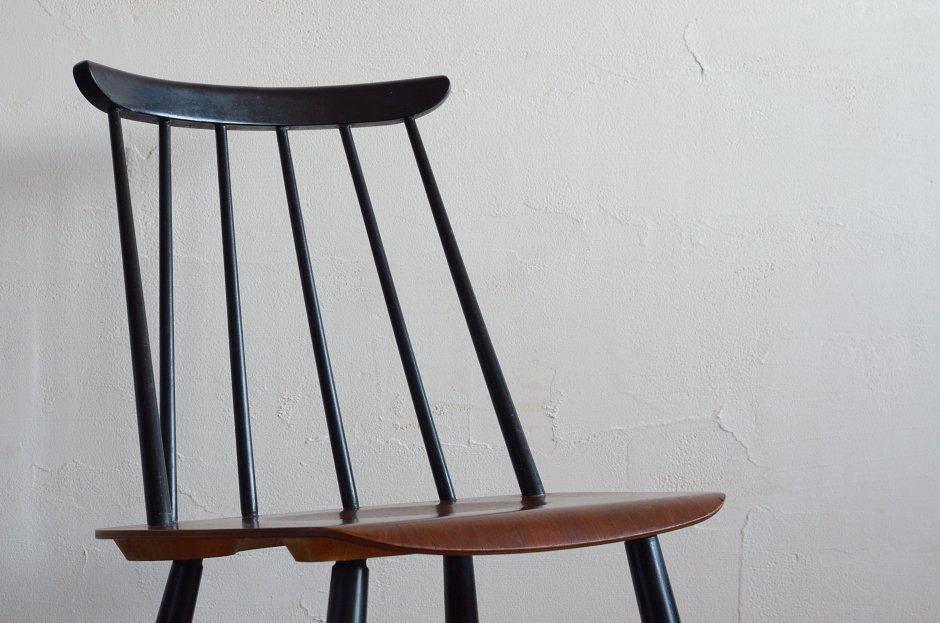Ilmari Tapiovaara イルマリ・タピオヴァラ Fanett chair ファネットチェア Black × Brown 2