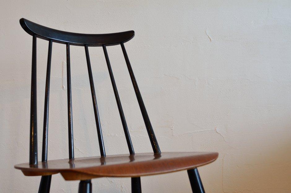 Ilmari Tapiovaara イルマリ・タピオヴァラ Fanett chair ファネットチェア Black × Brown 4