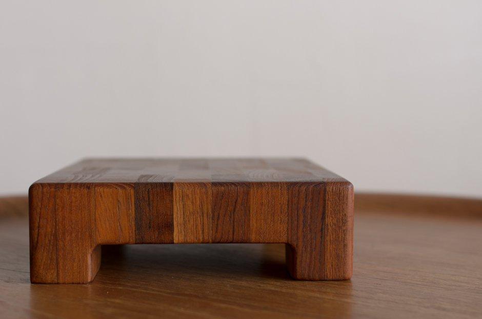 Jens H Quistgaard イェンス・クイストゴー Block Teak カッティングボード DANSK