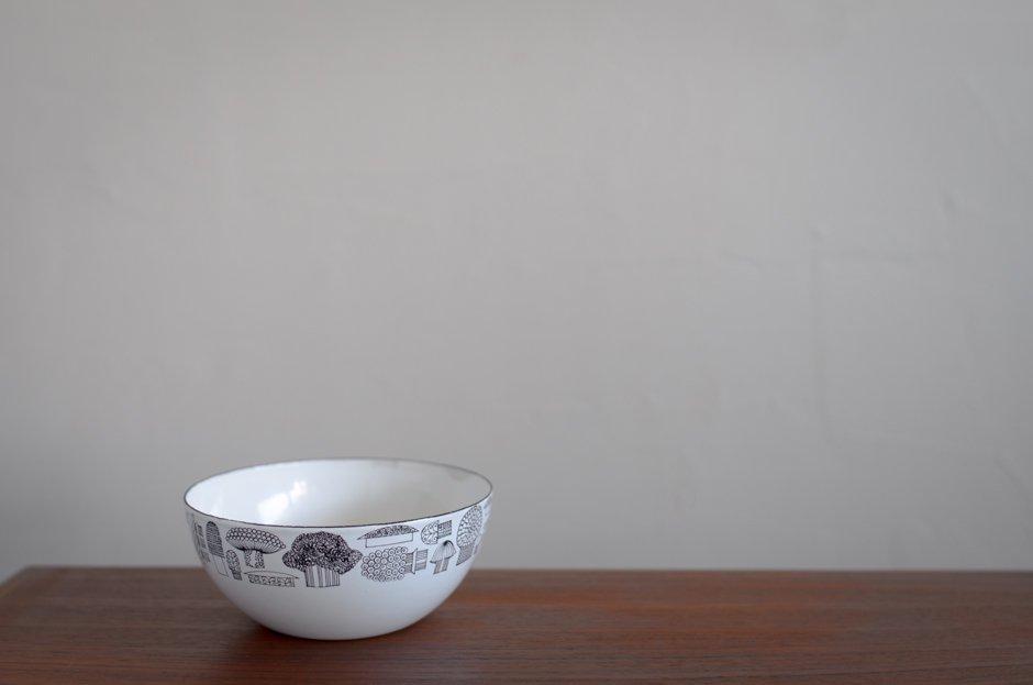 Finel フィネル Tatti マッシュルーム Enamel Bowl S 2/Esteri Tomula