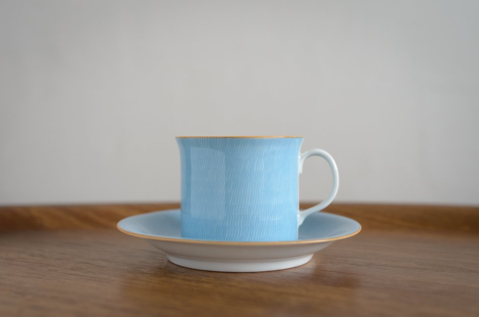 Outlet Rorstrand PRIMEUR Blue コーヒーカップ&ソーサー/Signe Persson Melin