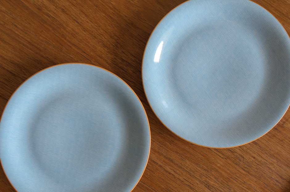 Rorstrand PRIMEUR Blue 17cm プレート/Signe Persson Melin