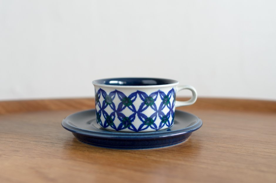 Arabia アラビア HLA Tea カップ&ソーサー Hilkka-Liisa Ahola