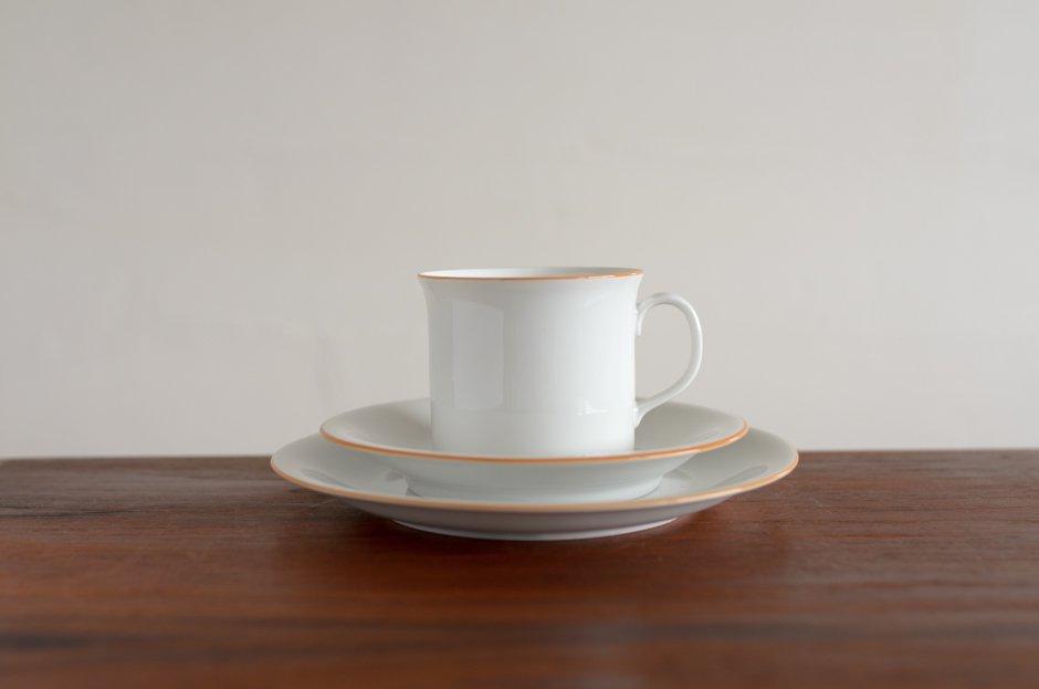 Signe Persson Melin PRIMEUR White コーヒーカップ & ソーサー & 17cmプレート #4 Rorstrand