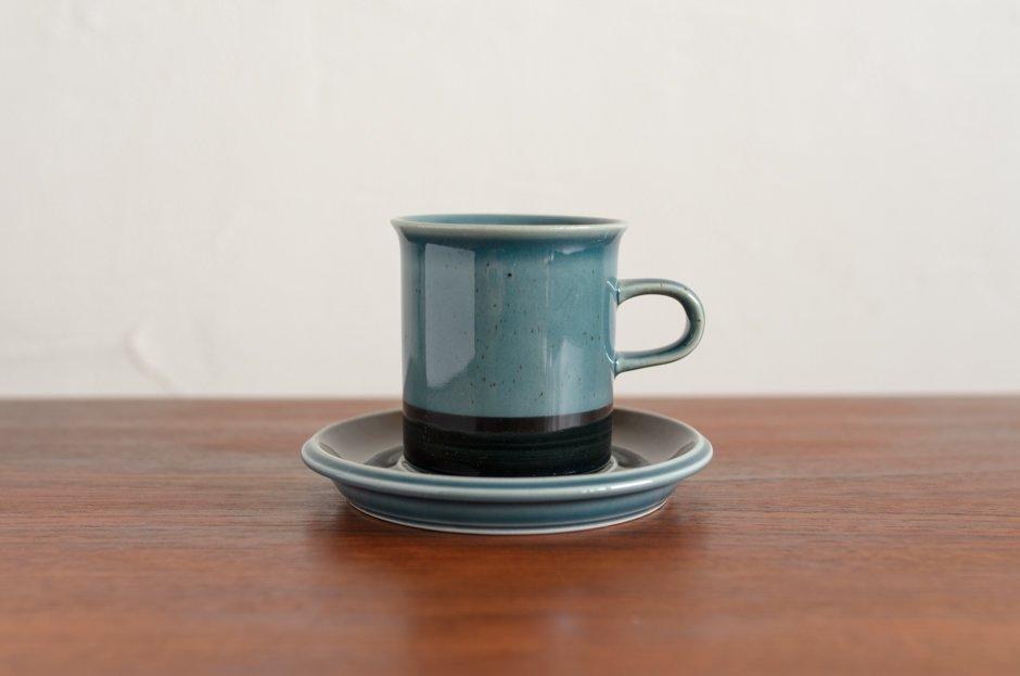 Arabia アラビア Meri メリ 0.18L コーヒーカップ&ソーサー #1/Ulla Procope ウラ・プロコペ