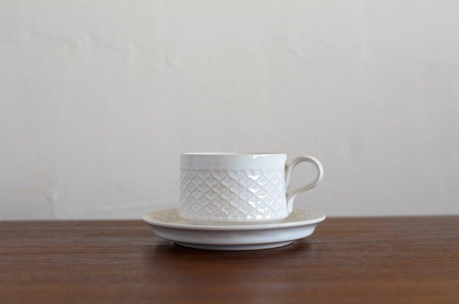 Cordial コーディアル ホワイト カップ&ソーサー #5/Jens.H.Quistgaard イェンス・クイストゴー