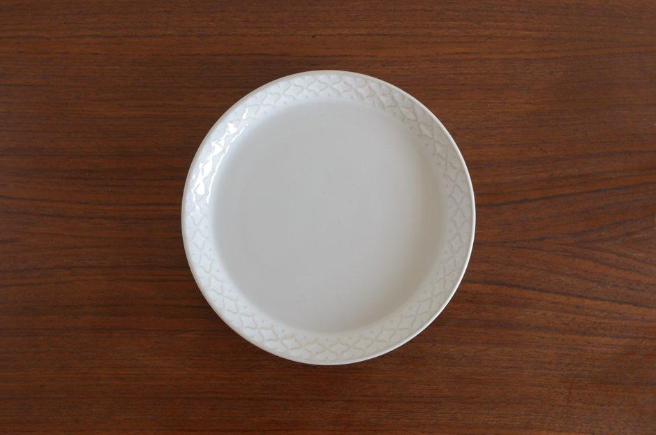 Cordial コーディアル ホワイト 17cmプレート #3/Jens.H.Quistgaard イェンス・クイストゴー