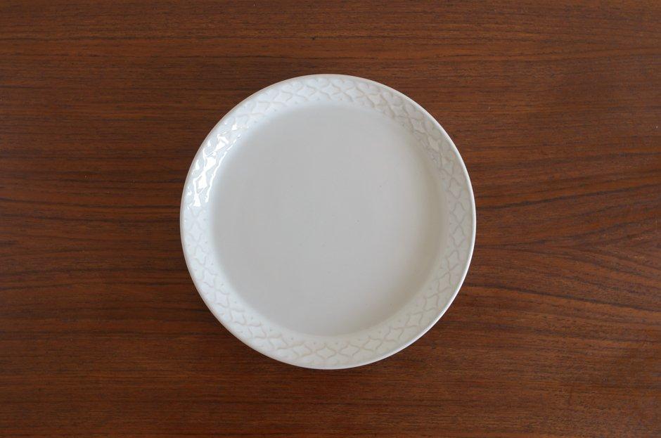 Cordial コーディアル ホワイト 17cmプレート #4/Jens.H.Quistgaard イェンス・クイストゴー