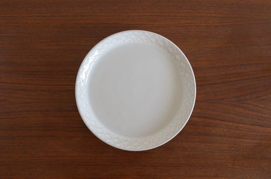 Cordial コーディアル ホワイト 17cmプレート #5/Jens.H.Quistgaard イェンス・クイストゴー